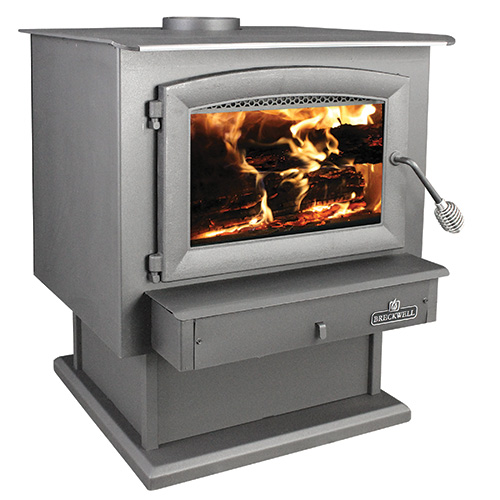SW740 Wood Stove With Pedestal