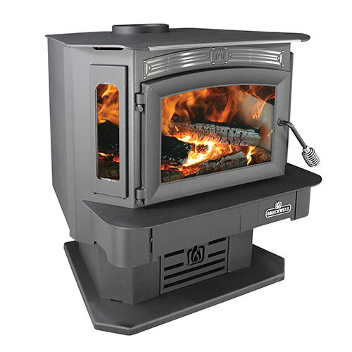 SW940 Wood Stove With Pedestal